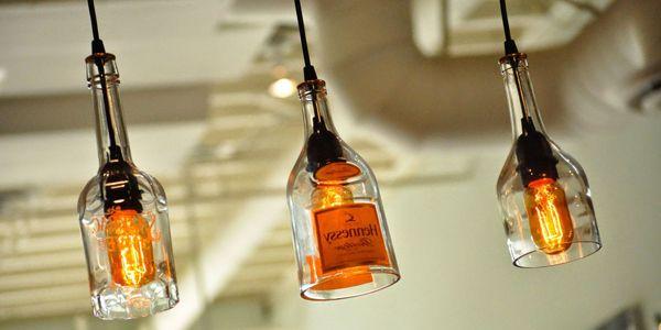 Glass Bottle Decoration Ideas Awesome Diy Wine Bottle Pendant Lighting Ideas To Decorate