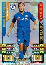 Chelsea FC 2015 Ligue de football finale de la coupe gagnants Trading Cards