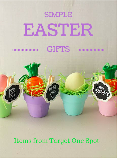 Simple easter gifts made with items from the target dollar spot simple easter gifts made with items from the target dollar spot negle Images