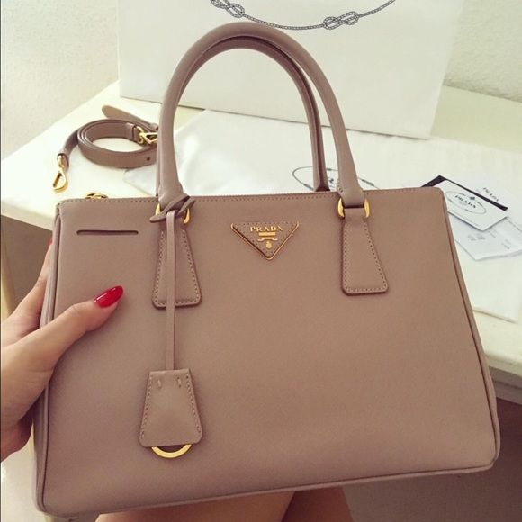 f5fe8a12cc3a Prada saffiano bag. Comes with box