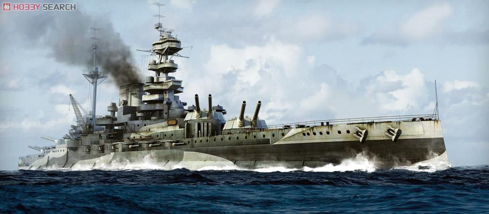 英国海軍 クイーン・エリザベス級 戦艦 マレーヤ 1943 (プラモデル ...