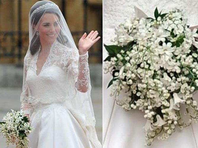 Bouquet Sposa Principessa Kate.Anche A Distanza Di Tempo Il Bouquet Di Kate Middleton Resta