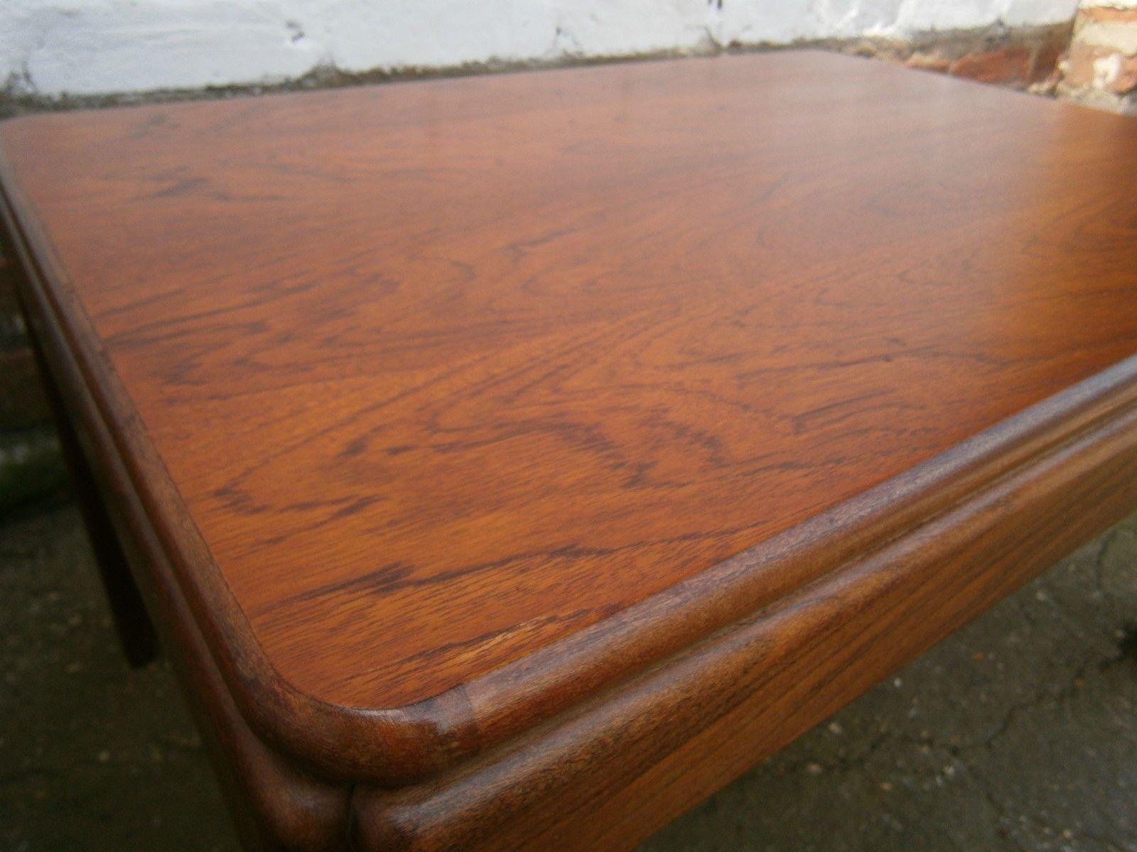 vintage retro mid century g plan teak floating coffee table Scandi