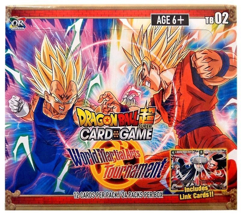 Ccg Sealed Booster Packs 183456 Dragon Ball Super World Martial