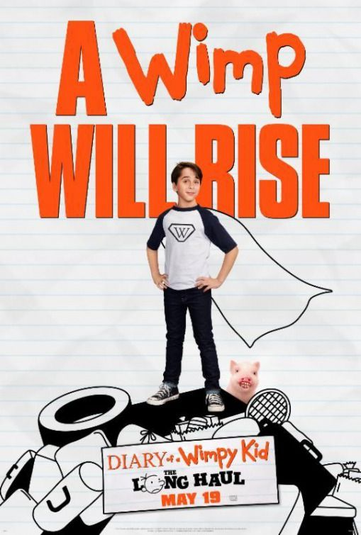 84a338dc25e Diary of a Wimpy Kid  The Long Haul Movie Poster - IMP Awards ...
