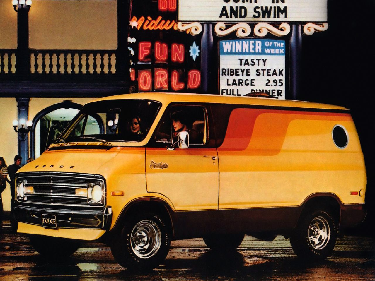 classic dodge van ad manassas lindsay chrysler dodge jeep ram classic dodge ads. Black Bedroom Furniture Sets. Home Design Ideas