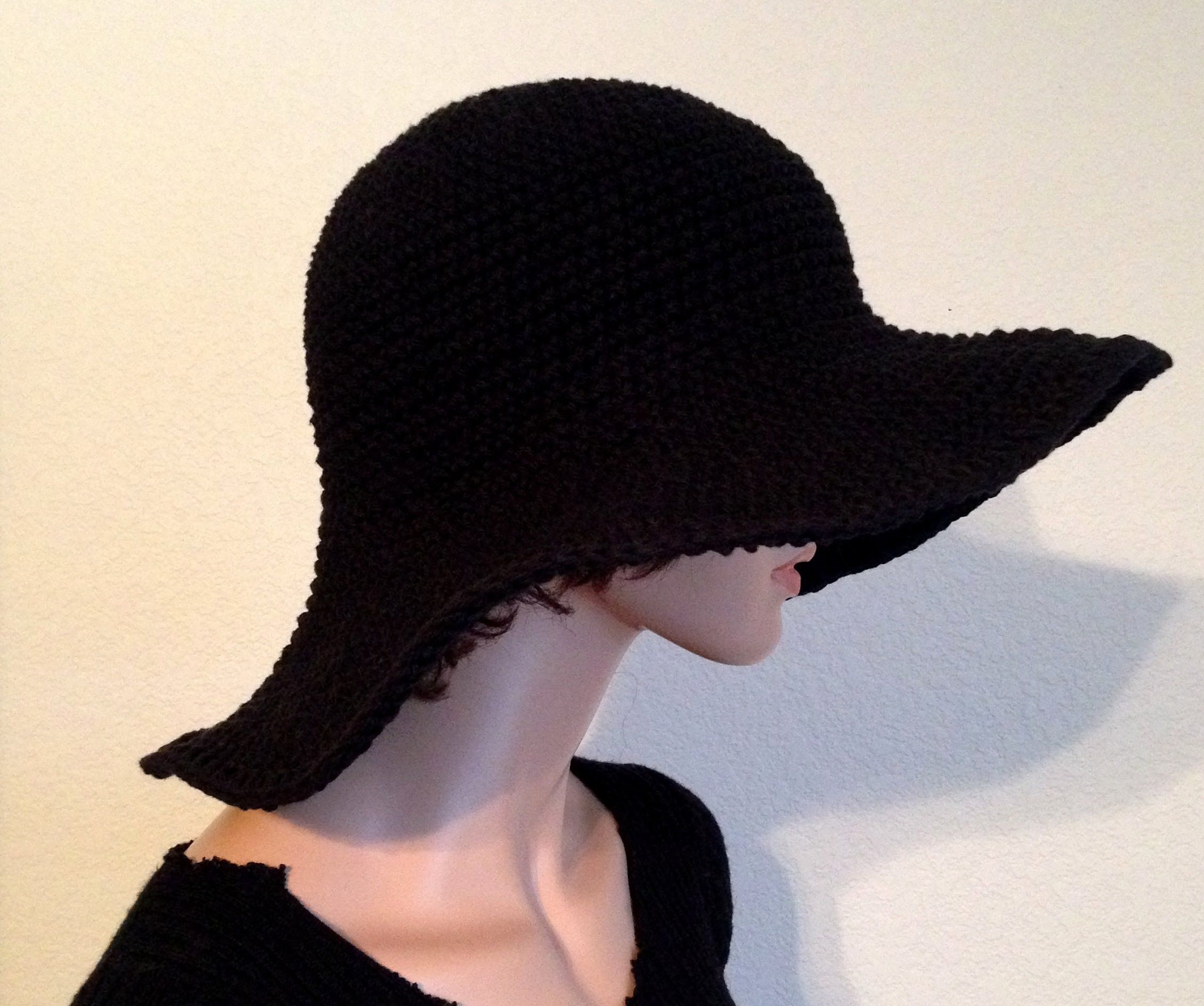 f22307c5077d6 Tutorial  How to add wire to the brim of a summer hat!