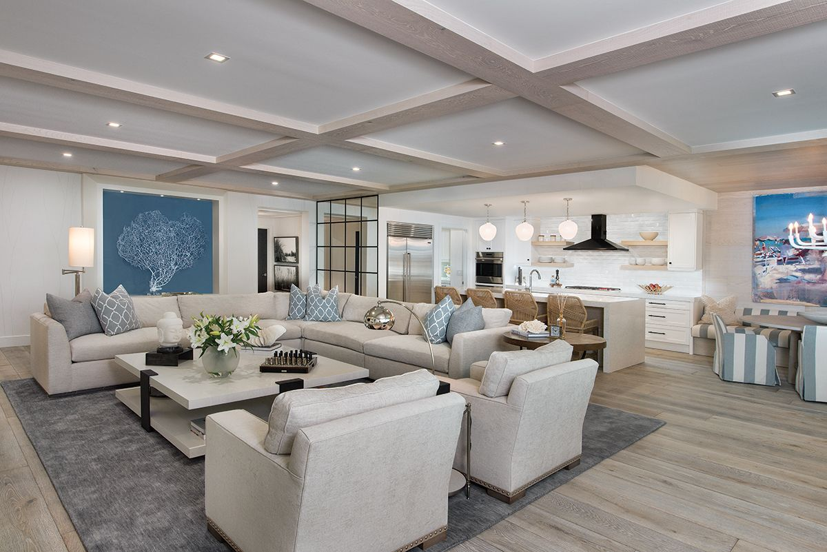 Modern Coastal Comfort Coastal Style Living Room Spacious Living Florida Home Florida living room furniture
