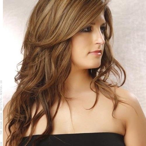 Nice Long Layered Haircut Healthy Hair