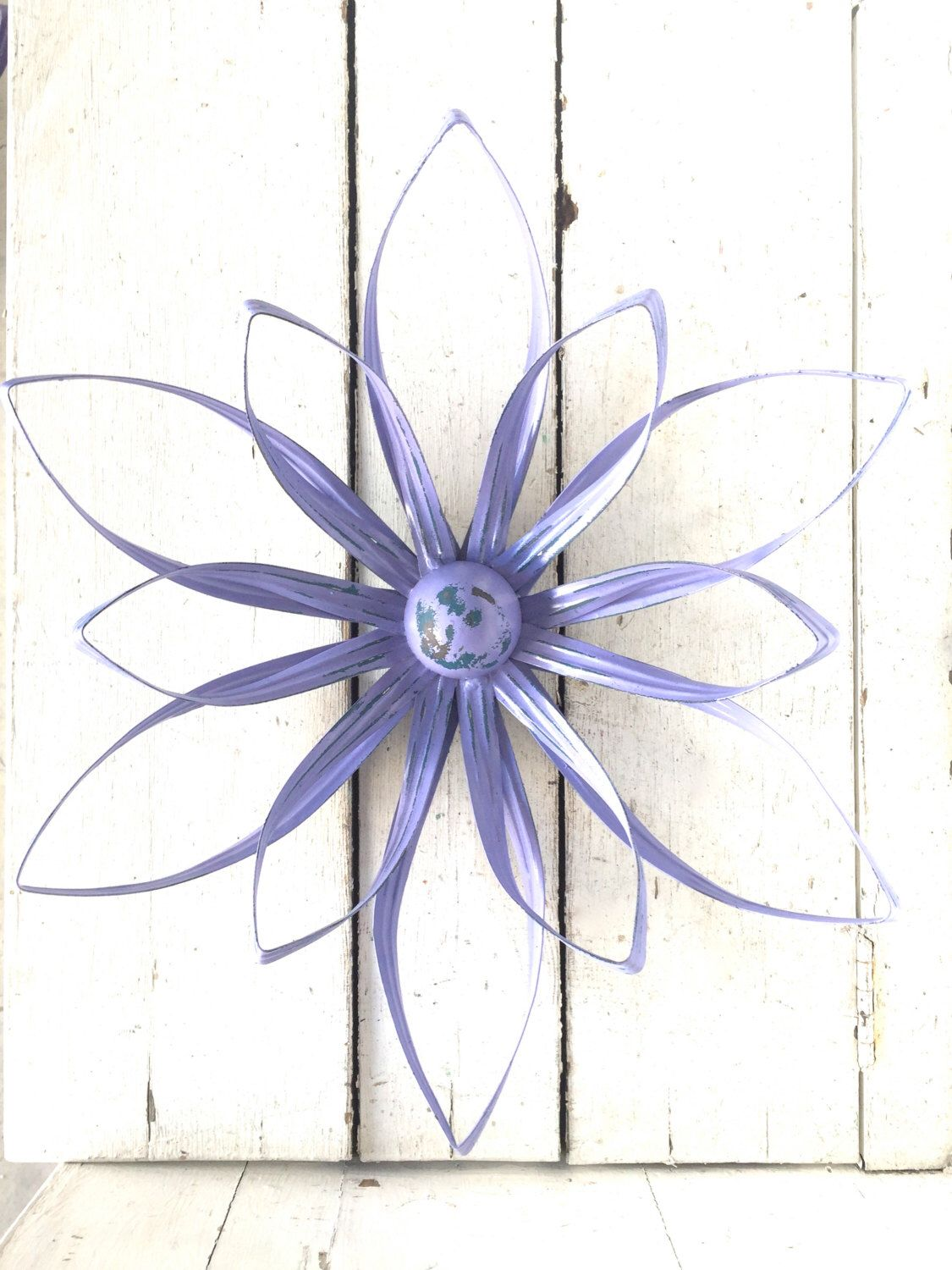 Flower Wall Art, Flower Decor, Metal Flower Art, Metal Wall Decor ...