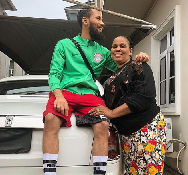 Rapper Phyno Shares Rare Photo with his Mother