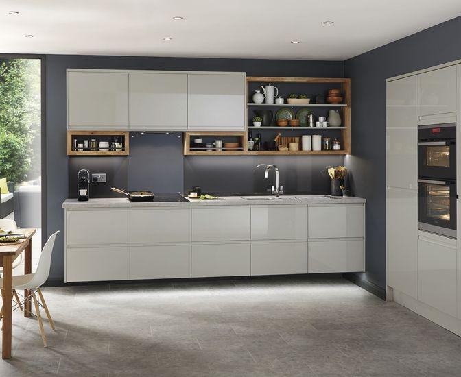 Clerkenwell gloss grey kitchen pinterest grey for Kitchen joinery ideas