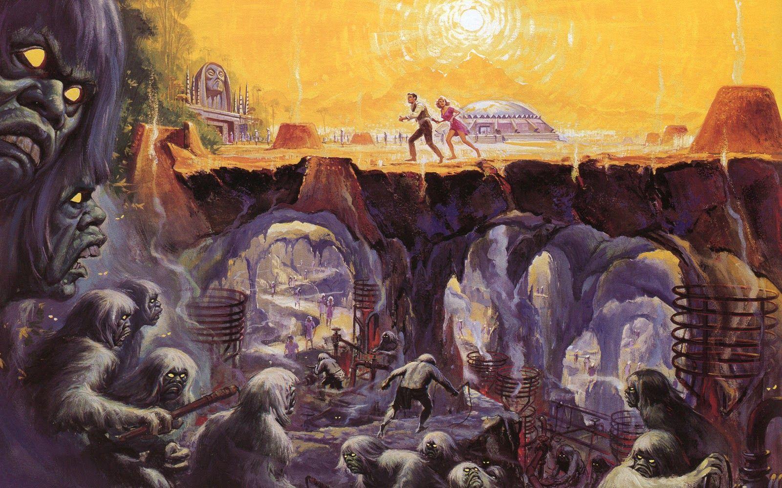 Time Machine Eloi and Morlocks | La machine