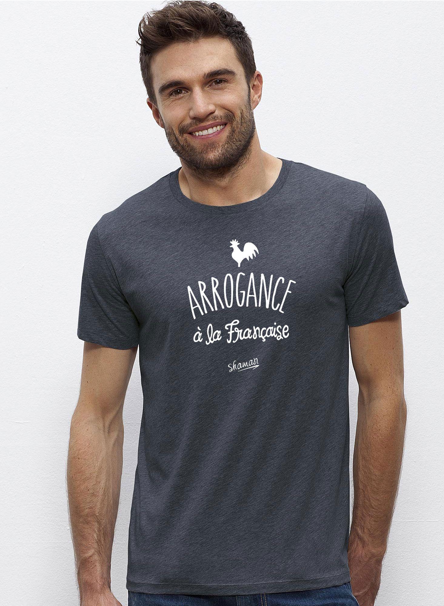 Le À Française Fabuleux Shaman T Pour Chaise Shirt Arrogance La XUwnX7Fq