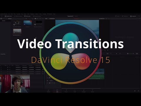 (402) Video Transitions in DaVinci Resolve 15 Tutorial