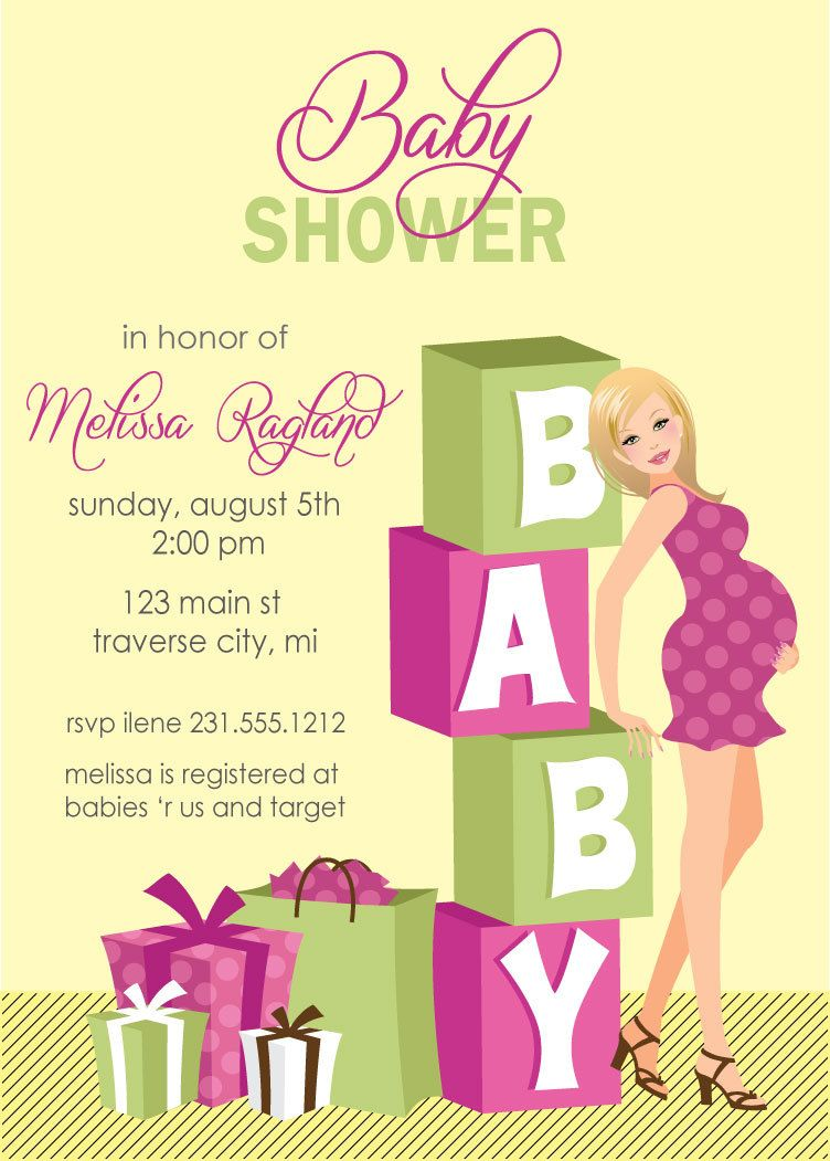 Awesome Baby Shower E Invitations Printable