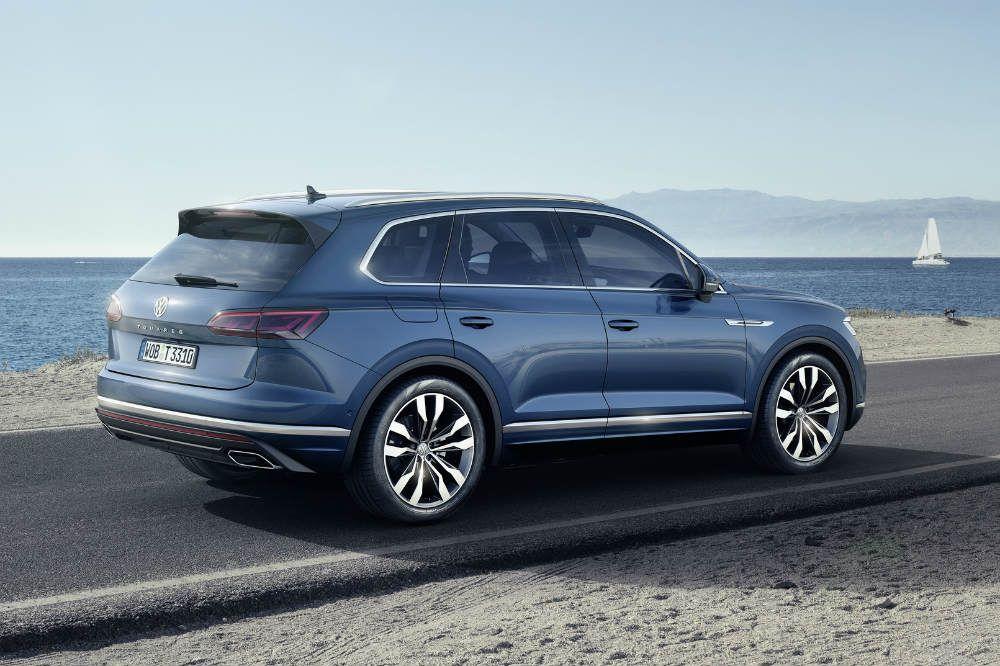 Volkswagen Touareg 2018 Novedades del motor Pinterest
