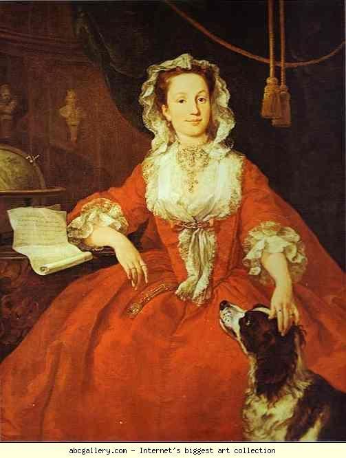 William Hogarth. Mary Edwards. Olga's Gallery.