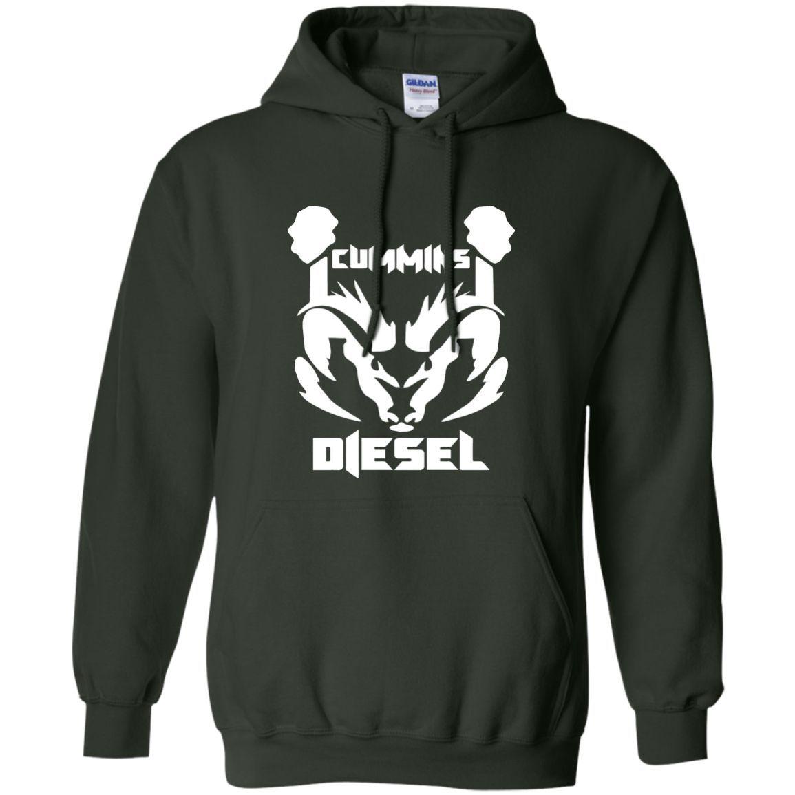 Cummins Diesel G185 Gildan Pullover Hoodie 8 oz.