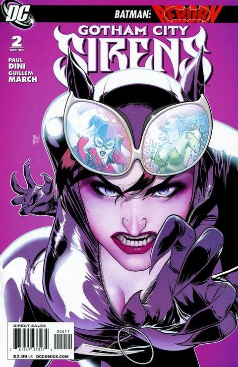Gotham City Sirens: Catwoman