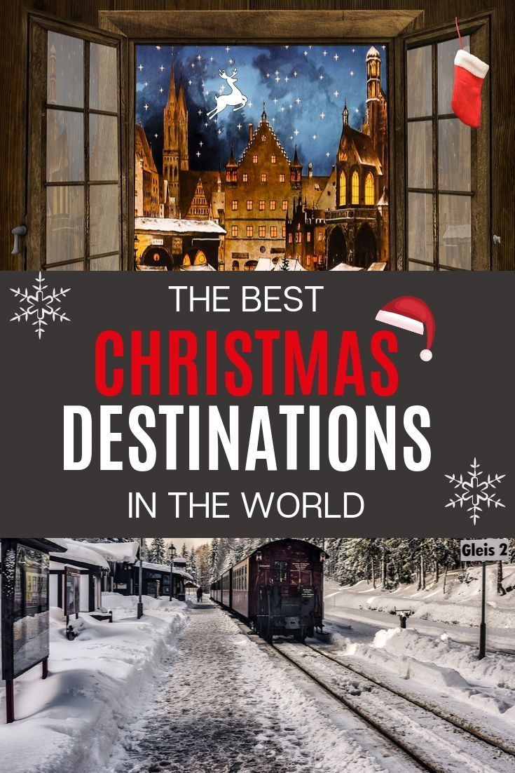 The Best Christmas Destinations In The World -   19 holiday Destinations usa ideas