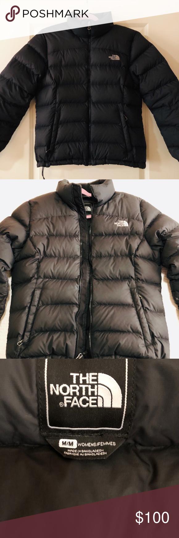Black Puffer North Face Coat North Face Coat Black Puffer Winter Coat Warmest [ 1740 x 580 Pixel ]