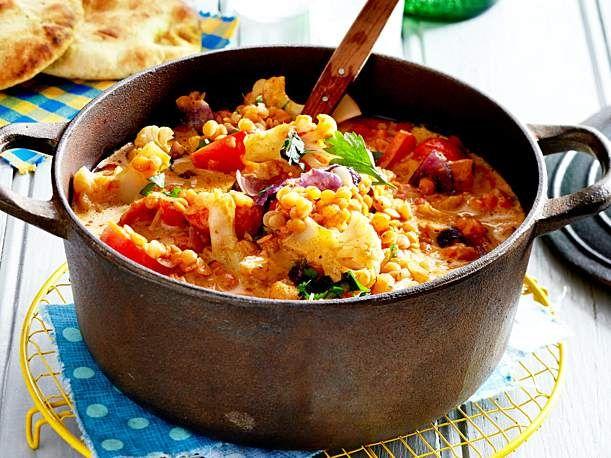 Schnelles Linsen-Kokos-Curry #vegetariandish