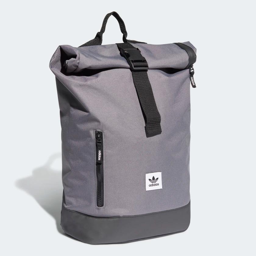 Adidas Premium Essentials Roll Top Backpack Grey Adidas Us In 2020 Top Backpacks Backpacks Bags