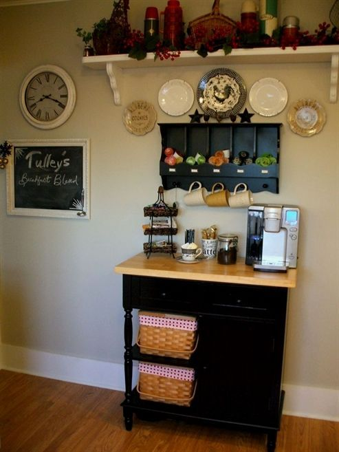 Miraculous 27 Diy Coffee Station Ideas For Your Mood Buzz How To Make Gmtry Best Dining Table And Chair Ideas Images Gmtryco