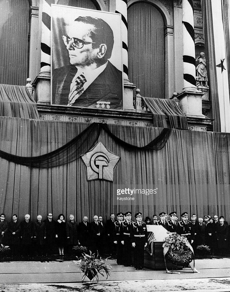 Question may 1980 funeral in belgrade