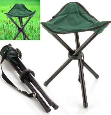 Miraculous Ewinr 1 Pcs Outdoor Camping Hiking 3 Legs Folding Chair Unemploymentrelief Wooden Chair Designs For Living Room Unemploymentrelieforg