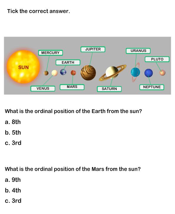 Solar System Worksheets - science Worksheets - grade-1 ...