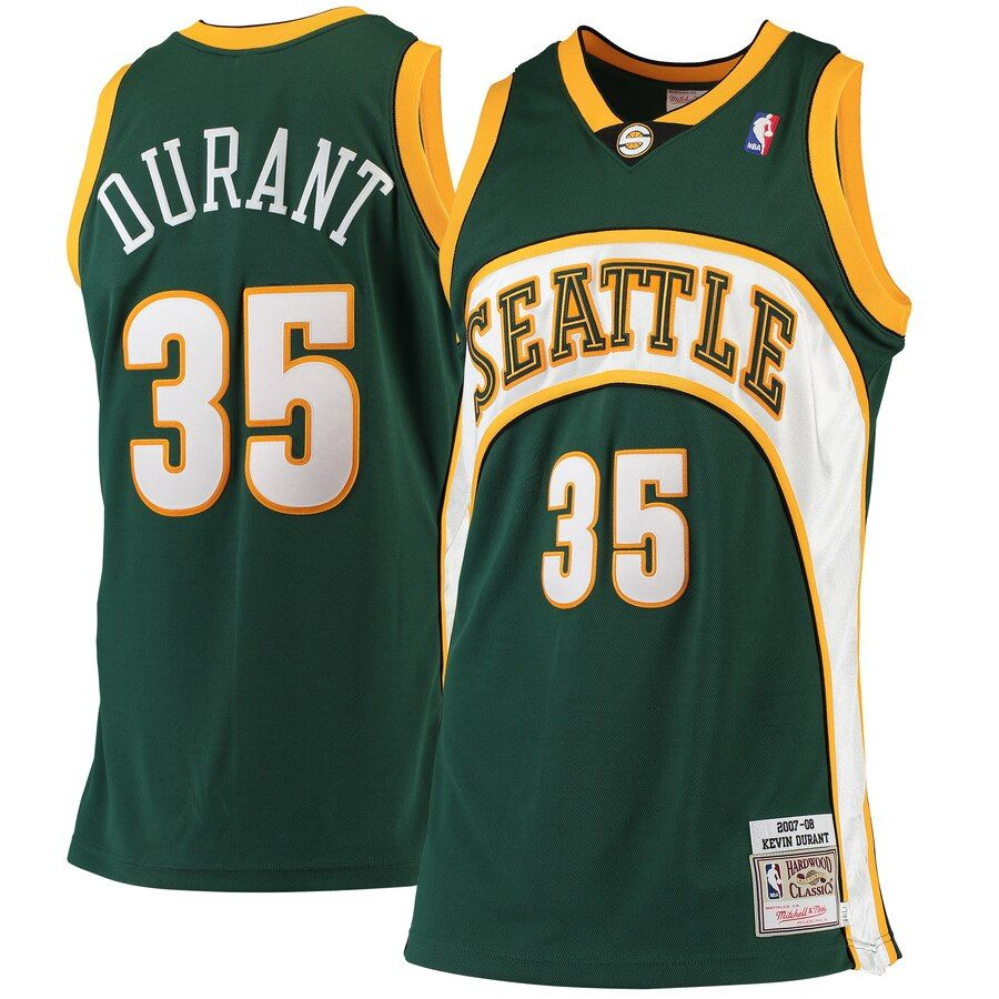 Kevin Durant Seattle SuperSonics Mitchell & Ness Road 2007