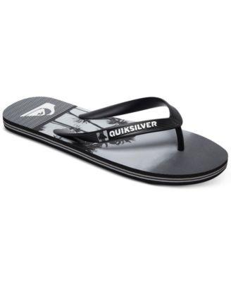 fc1697d57c1b Quiksilver Men s Molokai Sunset Vibes Sandals - Black black grey 11 ...