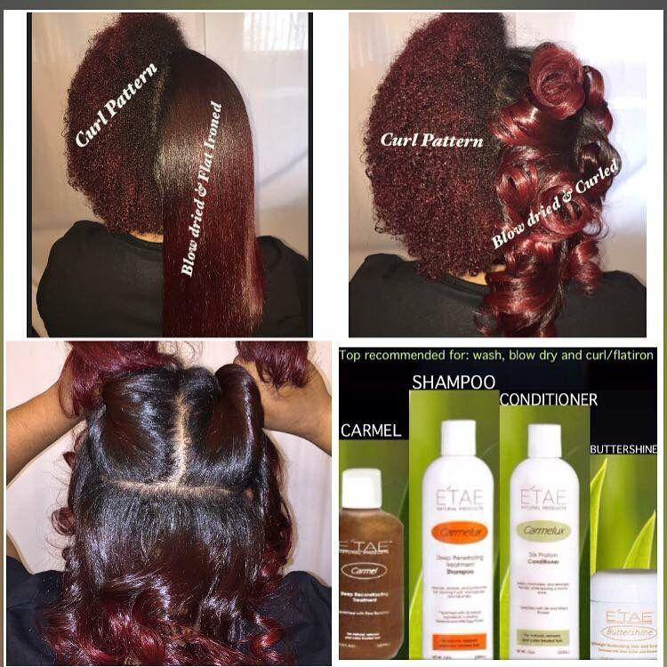 ETAE on natural hair Natural hair styles, Thick hair