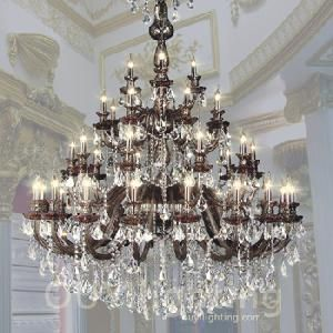 Antique rare baccarat gilt bronze crystal chandelier showstopper victorian chandeliers for kitchen candle chandelier was considered as a representation of high class aloadofball Image collections