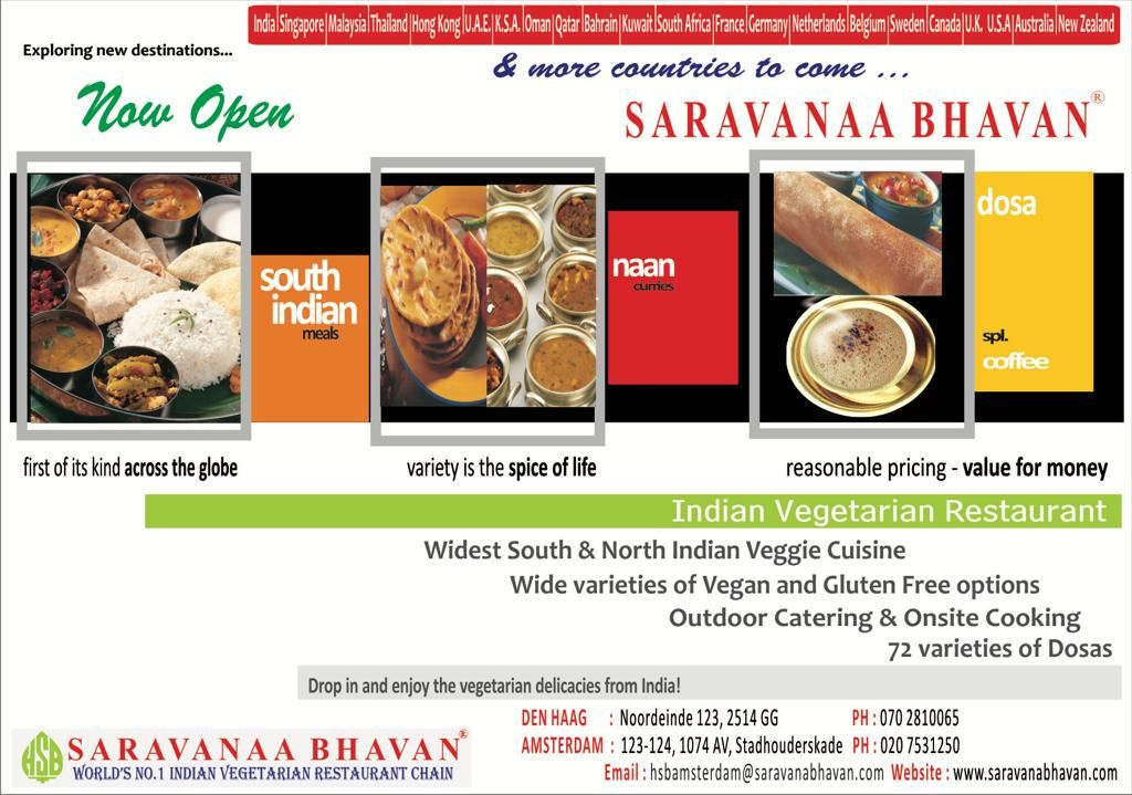 North And South Indian Restaurants In