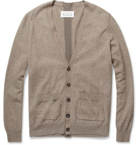 Maison Martin Margiela - Cotton and Wool-Blend Cardigan