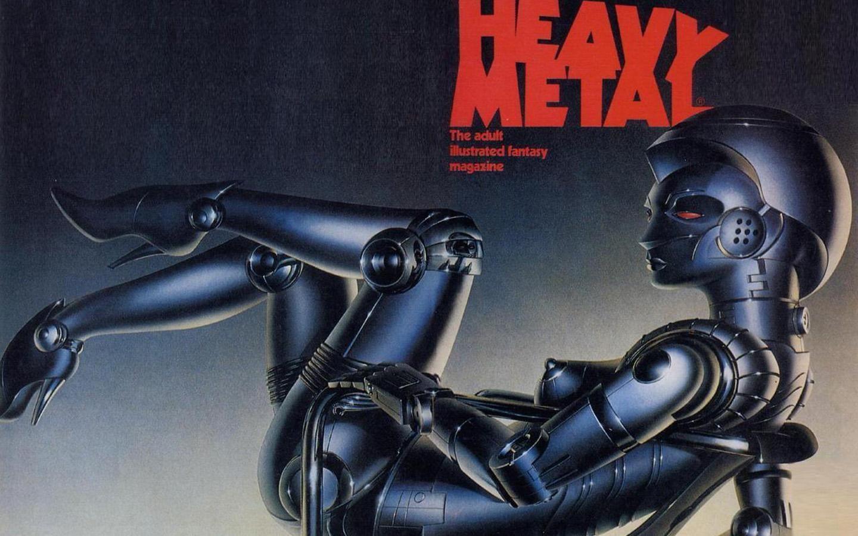 Heavy Metal Magazine Wallpaper Wallpapersafari Heavy Metal Comic Heavy Metal Metal Magazine