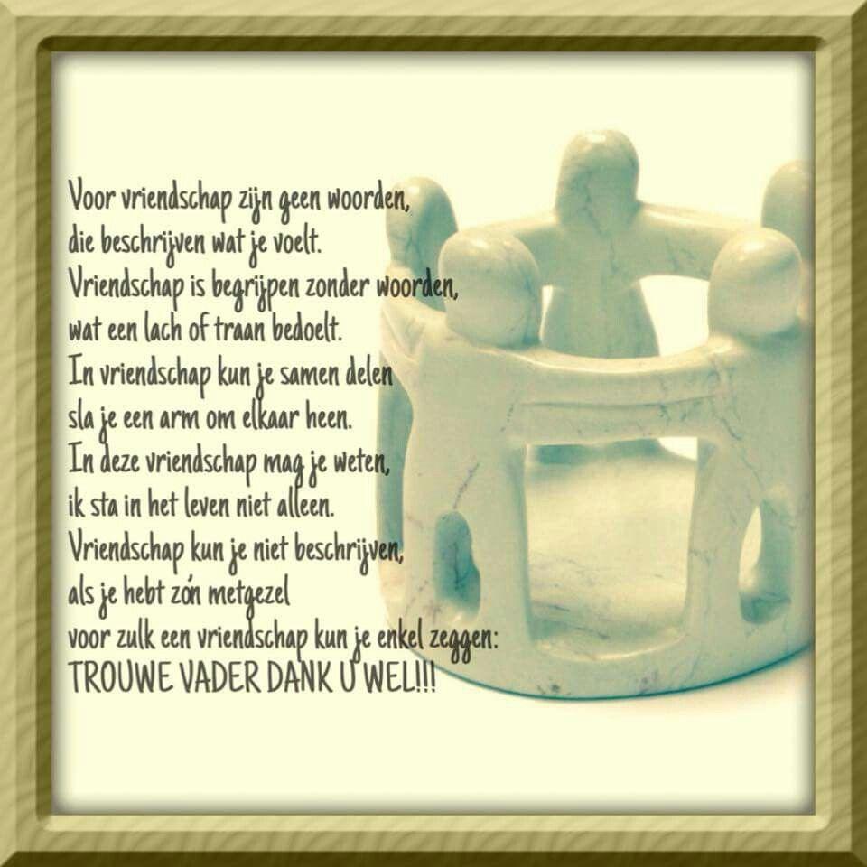 Verbazingwekkend Gedicht: Vriendschap | Gedichten, Mooie gedichten, Woorden OF-01