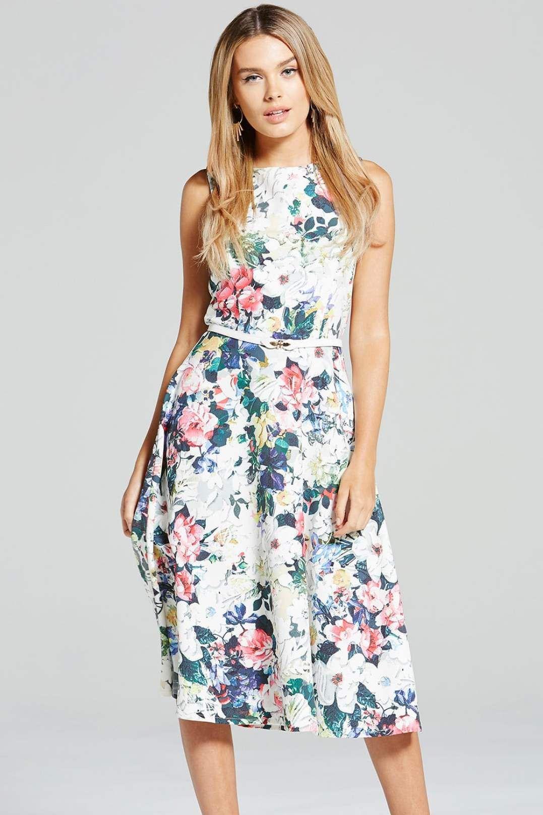 Kleid multi pastell