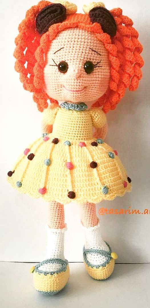 55+ Nice and Beauty Amigurumi Crochet Pattern Ideas Part 1 #littledolls