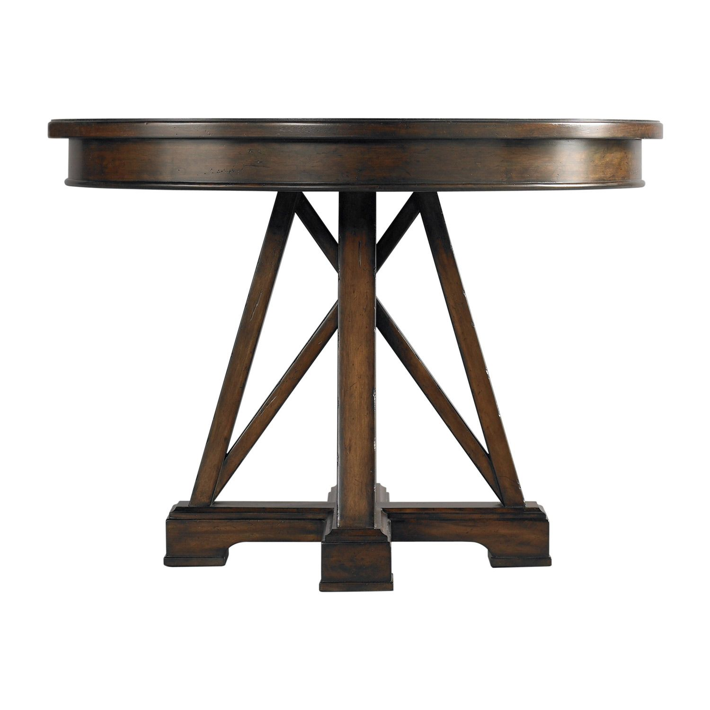 Stanley Furniture Modern Craftsman Saddle Red House Revival Table @Zinc_Door
