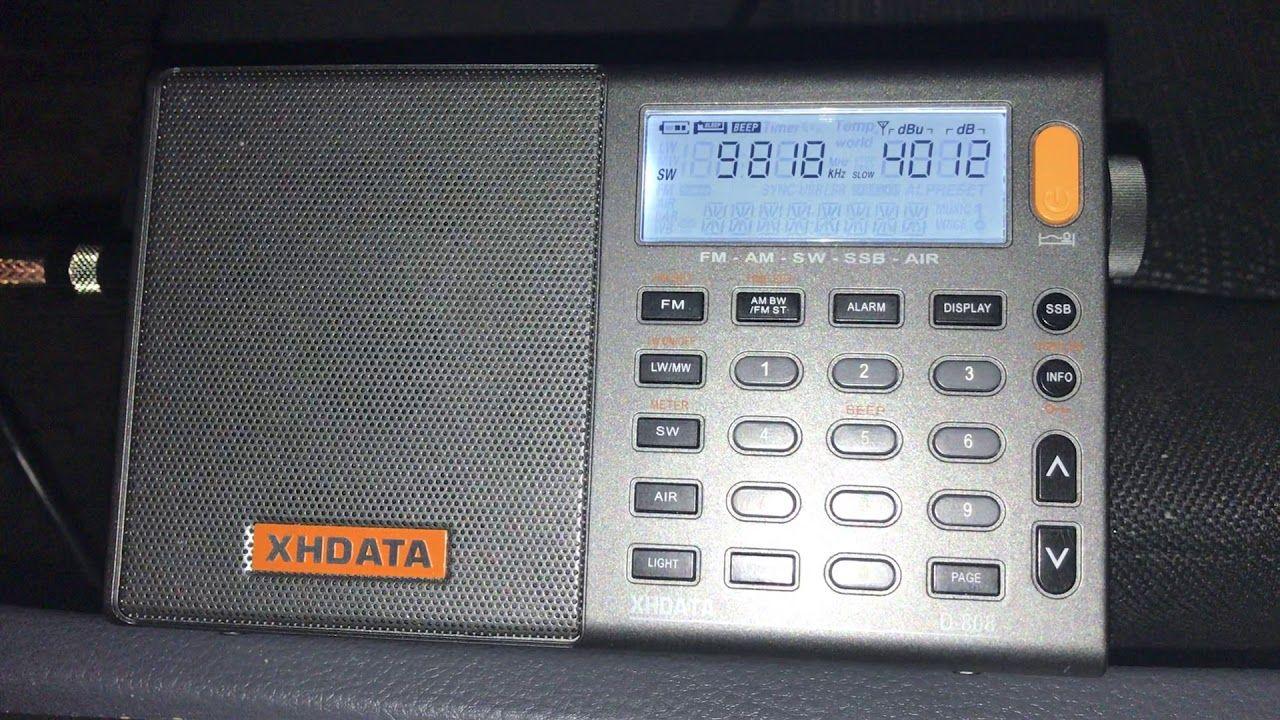 Recorded before my XHDATA D808 failed Rádio 9 de Julho