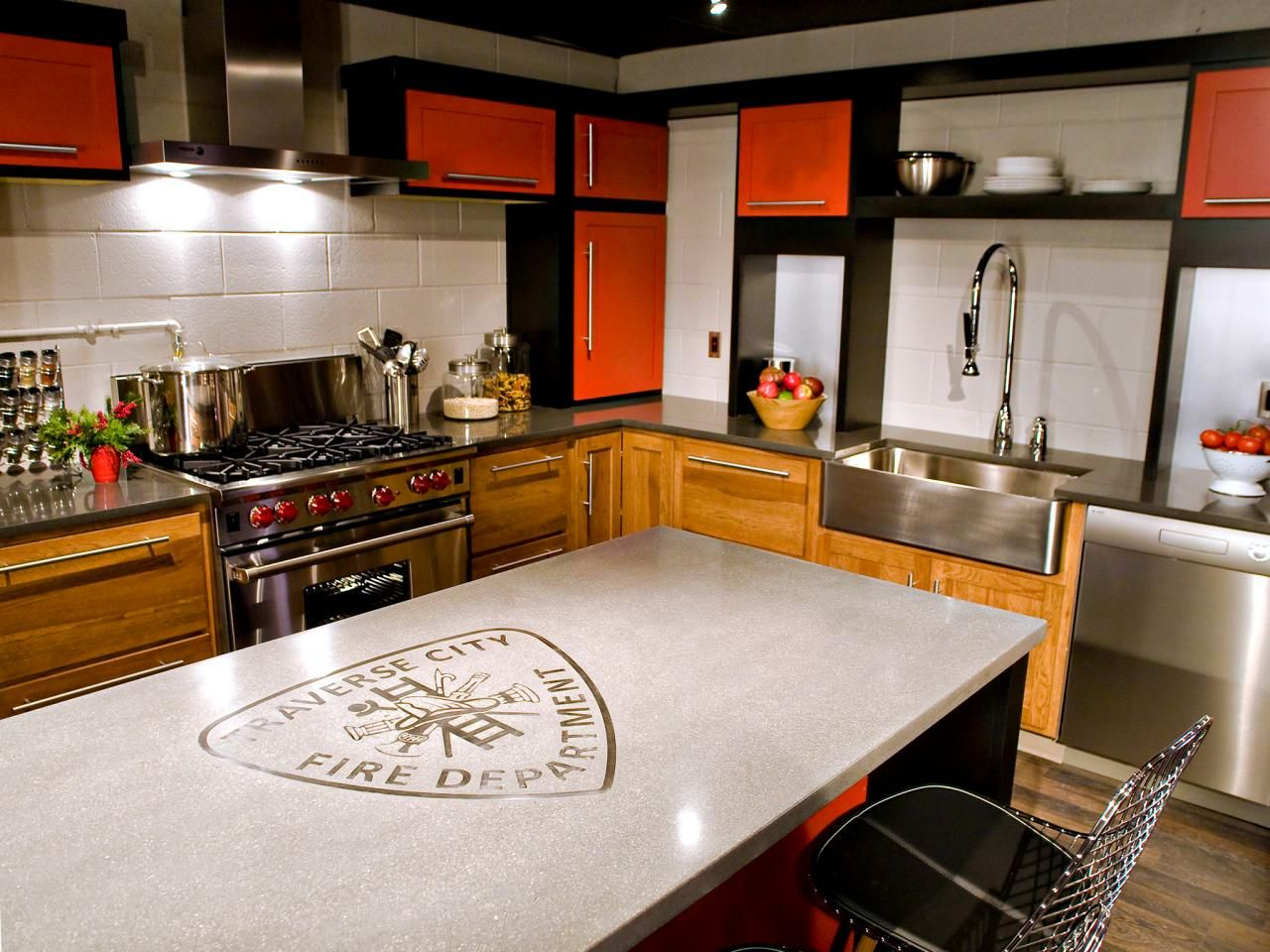 I Would Love To Have This Kitchen At My Home, Traverse City Fire House On  HGTV Remodels