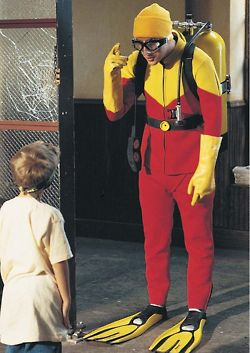 Scuba Steve's dad, Scuba Sam. | Scuba Fun | Daddy movie ...