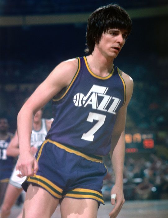 Pin By Jimmy On Basketball Nba Basketball Uniforms Design Pistol Pete Shooting Shirts