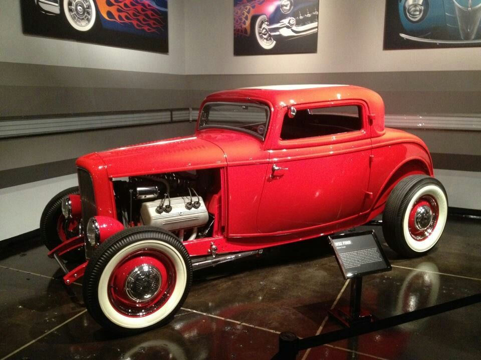 Classic hot rod. 32 Ford 3window coupe | Kustoms | Pinterest | 32 ...