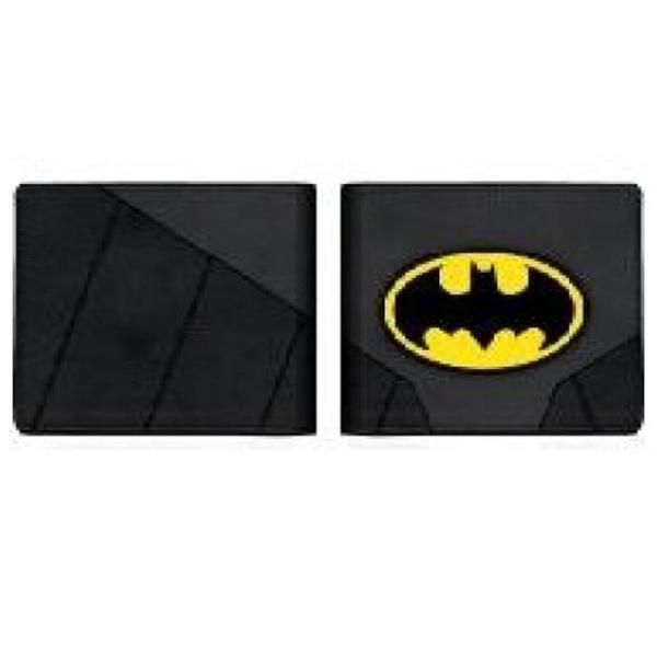 DC Comics Official /'Batman /& Robin/' Colour Bi Fold Wallet in a Tin Gift Box