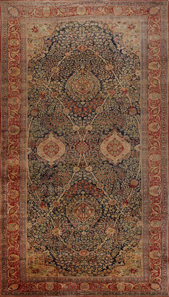 Persian Keshan Rug Matt Camron Gallery In 2019 Persian